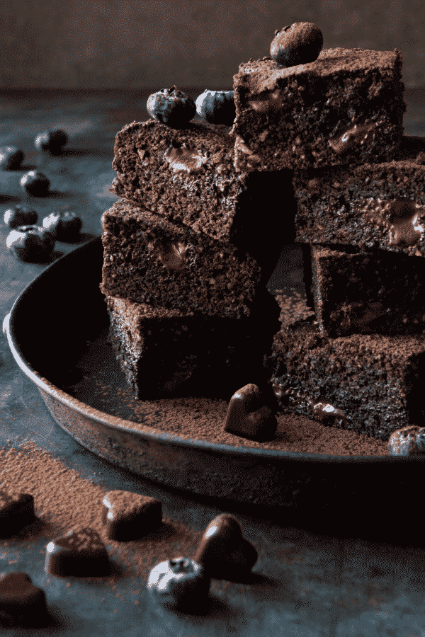 Dark Chocolate Brownies 1