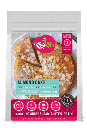 MojoMe Low-Carb Almond Cake