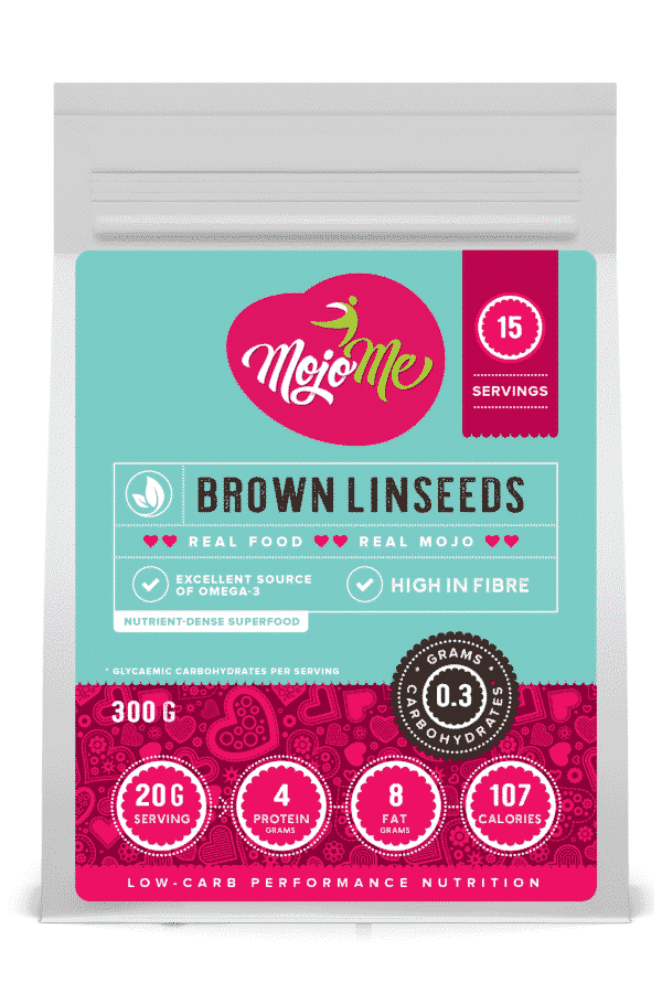 MojoMe Brown Linseeds 300g