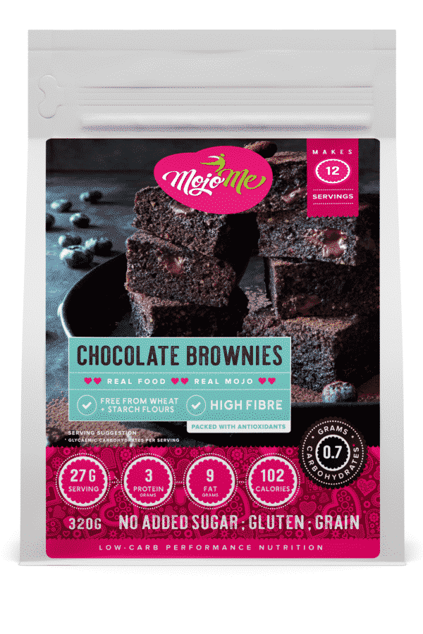 MojoMe Chocolate Brownies 320g
