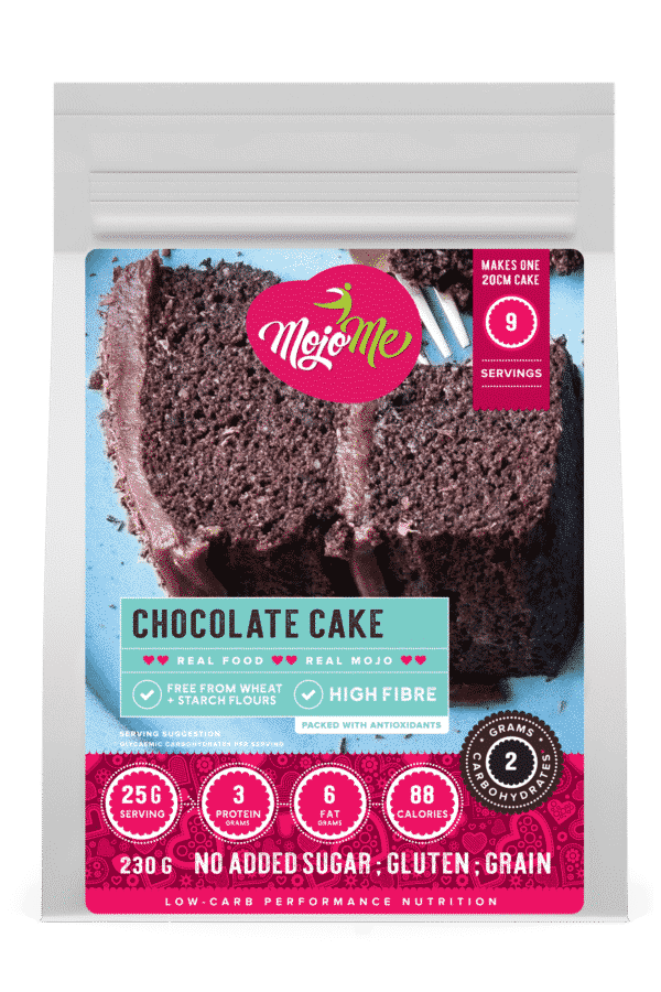 MojoMe Low-Carb Chocolate Cake 230g