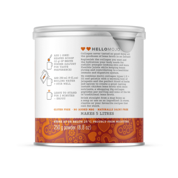 Instant Collagen Bone Broth - Directions For Use