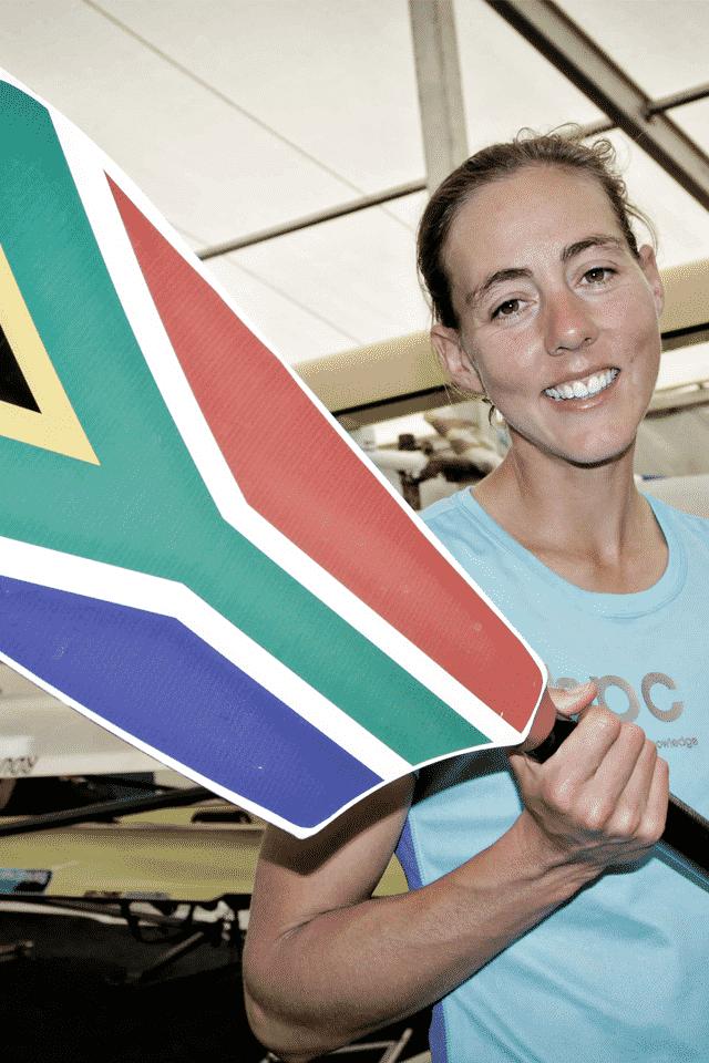 Ursula Groblar Olympic Lightweight Rower
